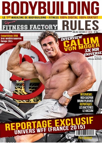 Bodybuilding Rules - Juillet 2015