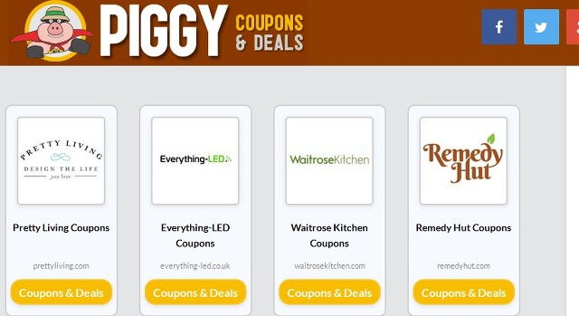 Piggy Coupon Ads