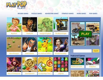 PlayPopGames Ads