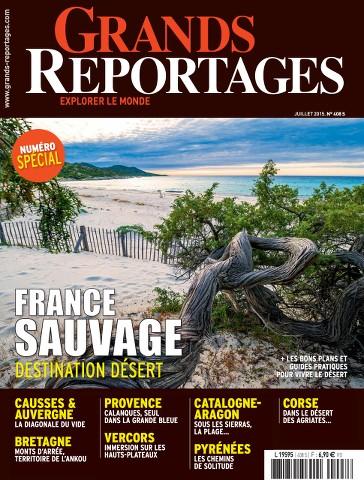 Grands Reportages 408 - Juillet 2015