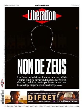 Liberation Du Lundi 6 Juillet 2015