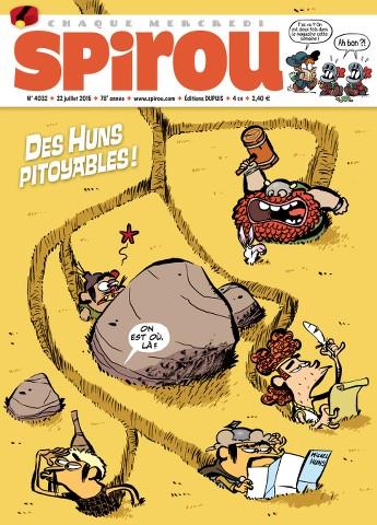 Le Journal de Spirou 4032 - 22 au 28 Juillet 2015