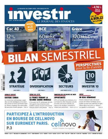 Investir - 4 Juillet 2015