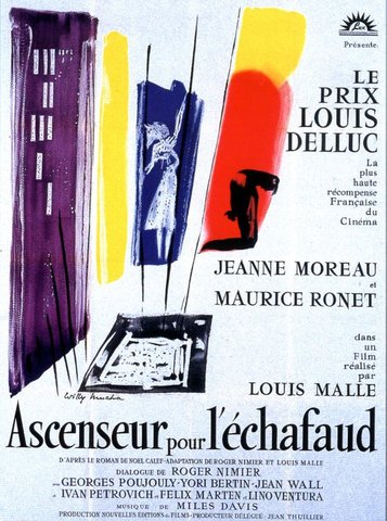 5dwAes Louis Malle   Ascenseur pour léchafaud AKA Elevator to the Gallows [+extras] (1958)