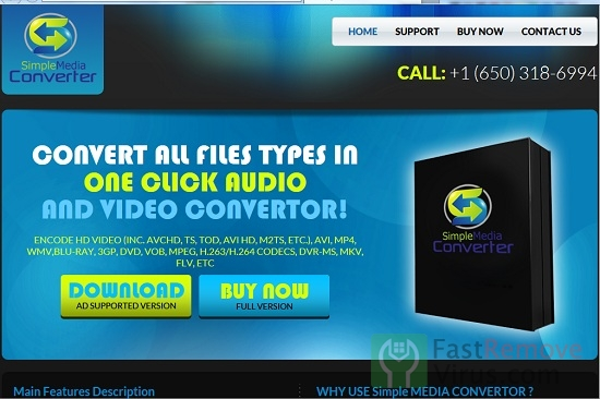 ads by Simple Media Converter