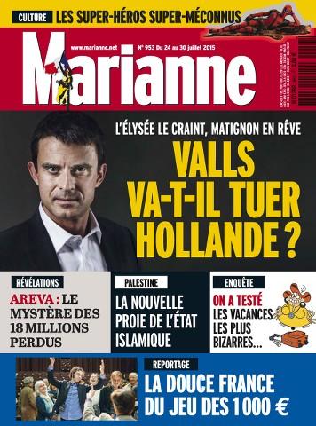 Marianne 953 - 24 au 30 Juillet 2015