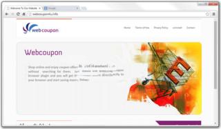 WebCoupon anuncios