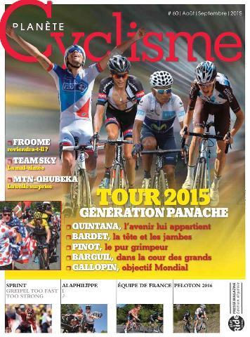 Planète Cyclisme - Août-Septembre 2015