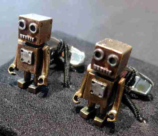 Robot Cuff Links