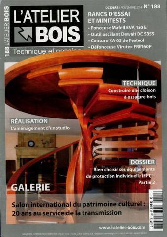 L'Atelier Bois 188 - Octobre/Novembre 2014
