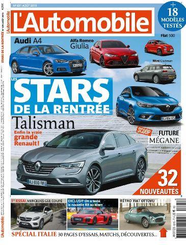 L'Automobile Magazine 831 - Aout 2015