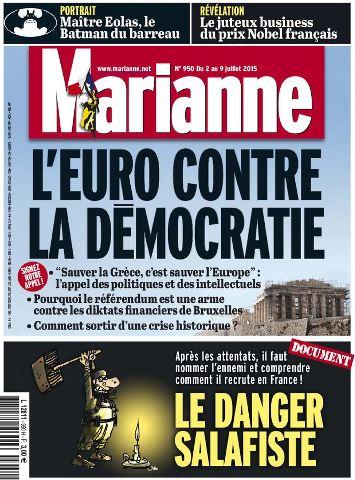 Marianne 950 - 2 au 9 Juillet 2015