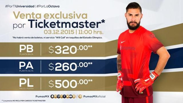 Cuanto Cuestan Los Boletos Para La Semifinal Pumas Vs