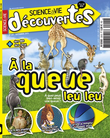 Science & Vie Découvertes 201 - Septembre 2015