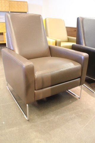 Flight Recliner Chair Flight Recliner Stout Leather Theater Chair Design  Within Reach Dwr Ebay