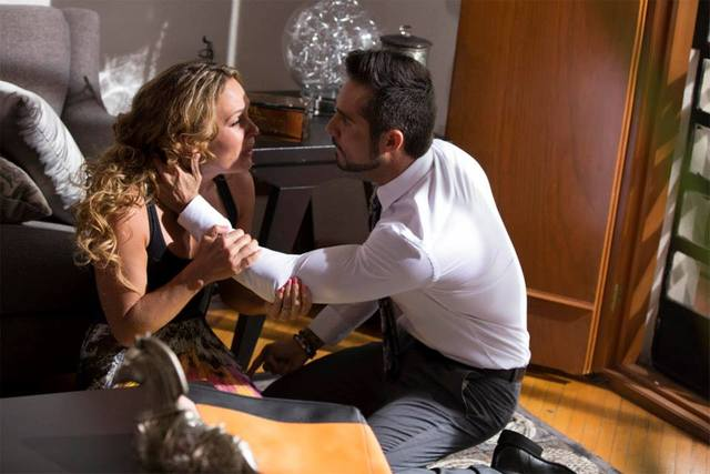 Jose Ron y Jessica Coch