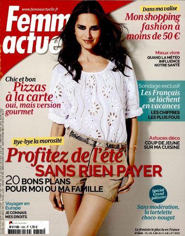 Femme Actuelle 1605 - 29 Juin au 5 Juillet 2015