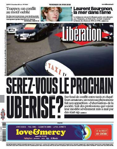 Libération du Vendredi 26 Juin 2015