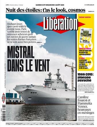 Liberation WEEK-END Du Samedi 08 & Dimanche 09 Août 2015