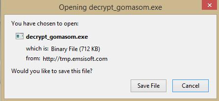 Gomasom Ransomware