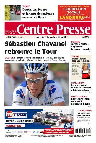 Centre Presse - 27 Juin 2015