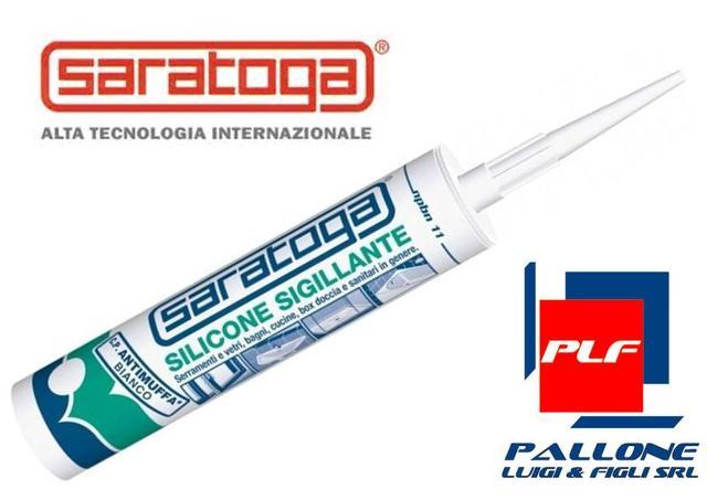 Saratoga silicone sigillante antimuffa bianco ml 280 - Box doccia senza silicone ...
