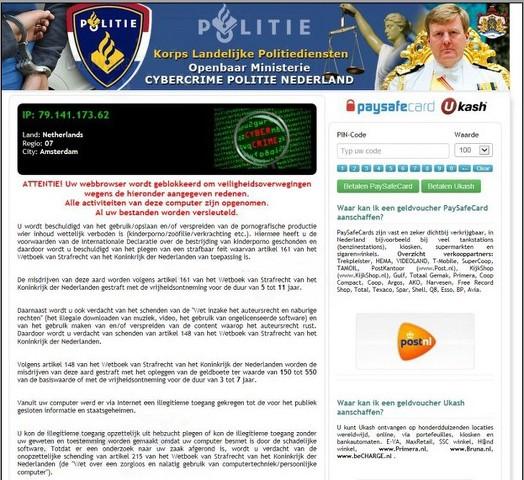 Cybercrime Politie Nederland