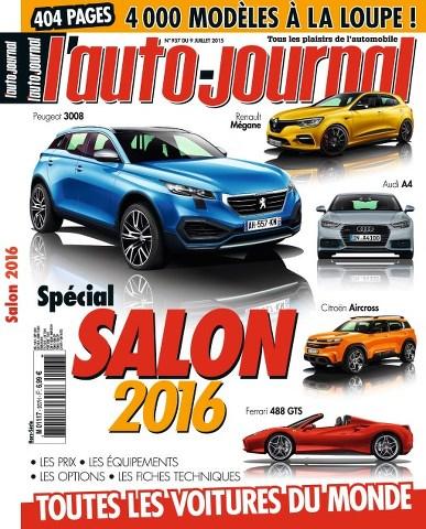 L'Auto-Journal 937 - Spécial Salon 2016