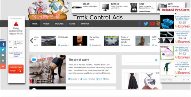 Tmtk Control Ads