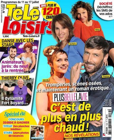 Télé Loisirs - 11 au 17 Juillet 2015