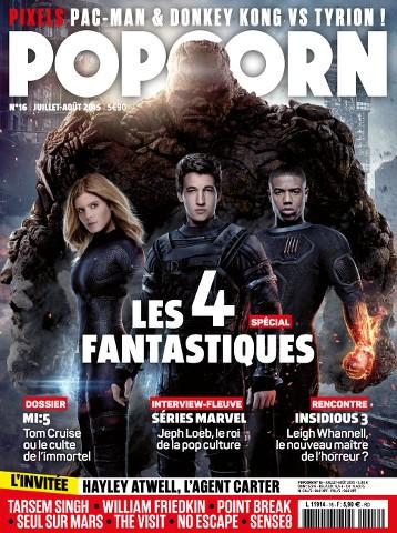 Popcorn 16 - Juillet - Aout 2015