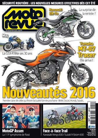 Moto Revue 4007 - 2 au 15 Juillet 2015
