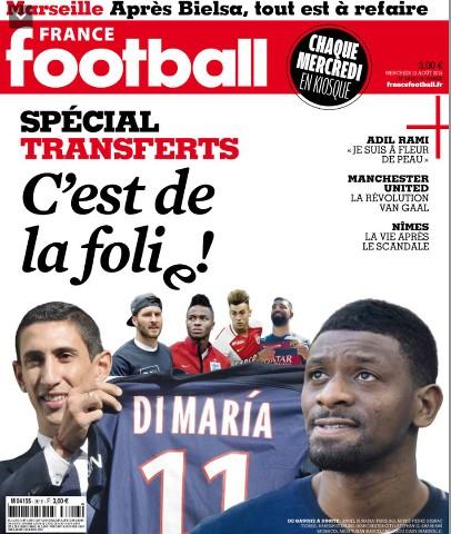 France Football 3616 Du 12 Août 2015
