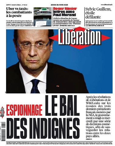 Libération du Jeudi 25 Juin 2015