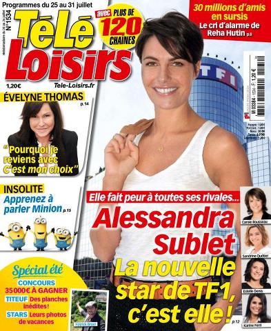 Télé Loisirs - 25 au 31 Juillet 2015
