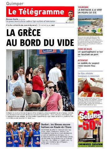 Le Télégramme - 29 Juin 2015
