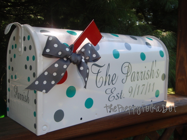 Custom Wedding Card Box Mailbox