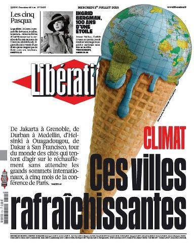 Libération du Mercredi 1 Juillet 2015
