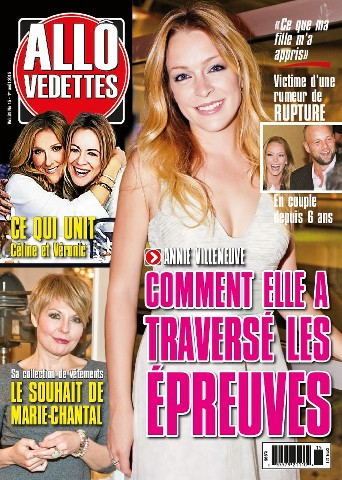 Allô Vedettes - 1 Août 2015