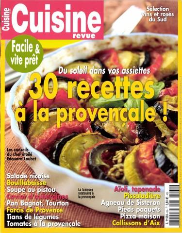 Cuisine Revue 65 - Juillet-Septembre 2015