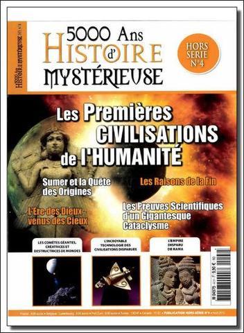 5000 Ans D'Histoire Mysterieuse HS 4 - Les premières civilisations de l'humanité