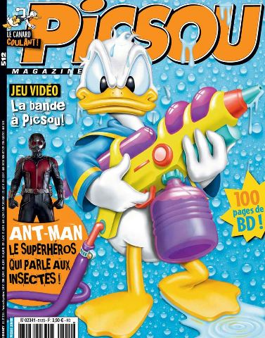 Picsou Magazine 512 - Juillet 2015