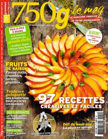 750g Le mag 12 - Juillet-Septembre 2015