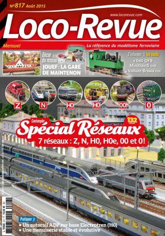 Loco-Revue 817 - Août 2015