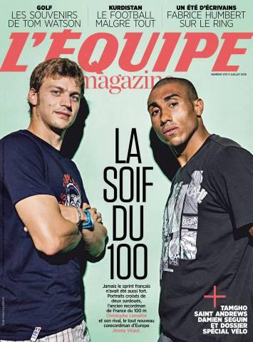 L'Equipe Magazine 1721 du Samedi 11 Juillet 2015