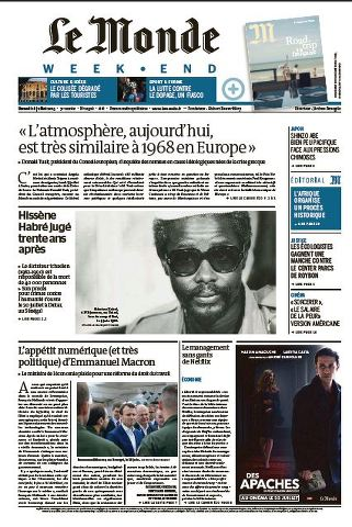 Le Monde Weekend et 4 Suppléments du Samedi 18 Juillet 2015