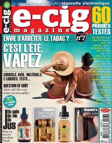 E-Cig Magazine - Juillet-Septembre 2015