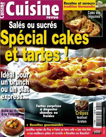 Cuisine Revue 51 - Special Cakes et Tartes