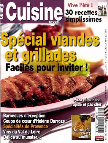 Cuisine Revue 52 - Spécial Viandes et Grillades