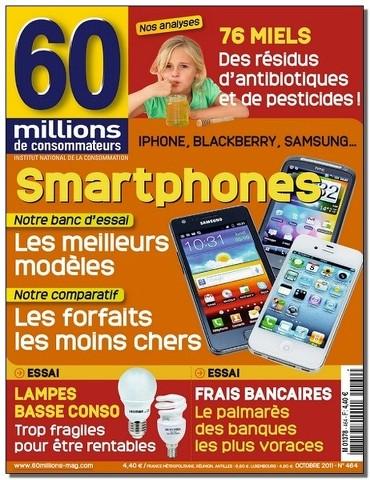 60 Millions de Consommateurs 464 - Les smartphones